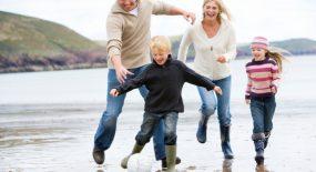 L'amour et la vie commence avec une famille